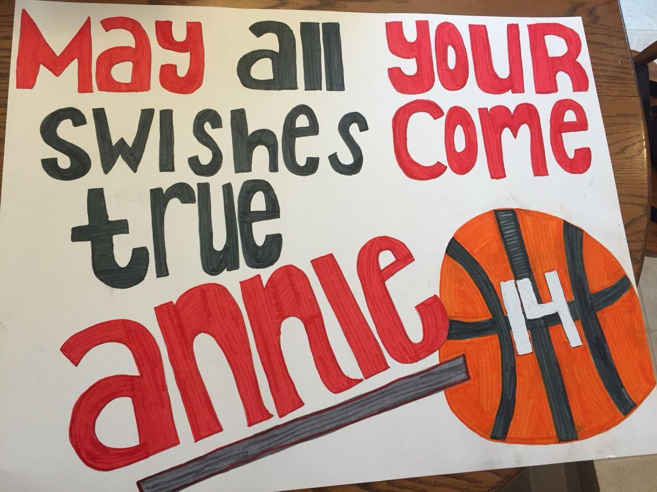 10 Gorgeous High School Basketball Poster Ideas poster idea for a basketball game anna cheerleading 2020