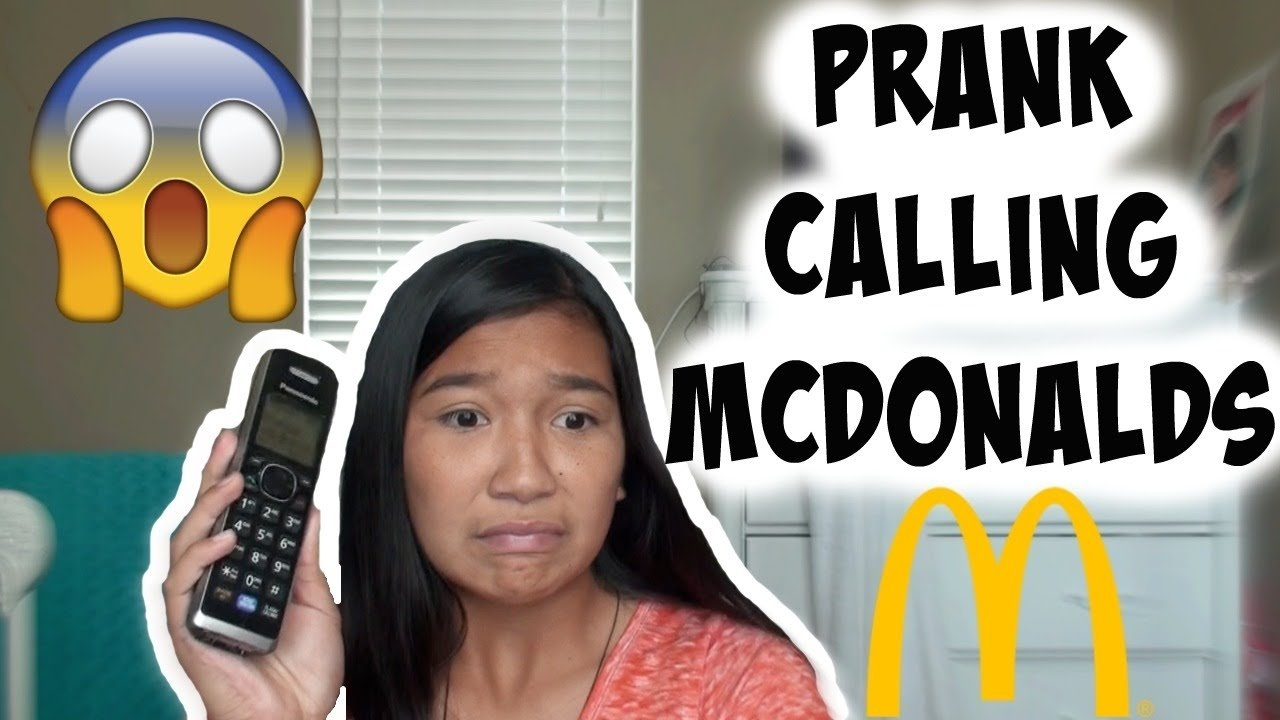 10 Most Recommended Prank Call Ideas For Walmart prank calling mcdonalds youtube