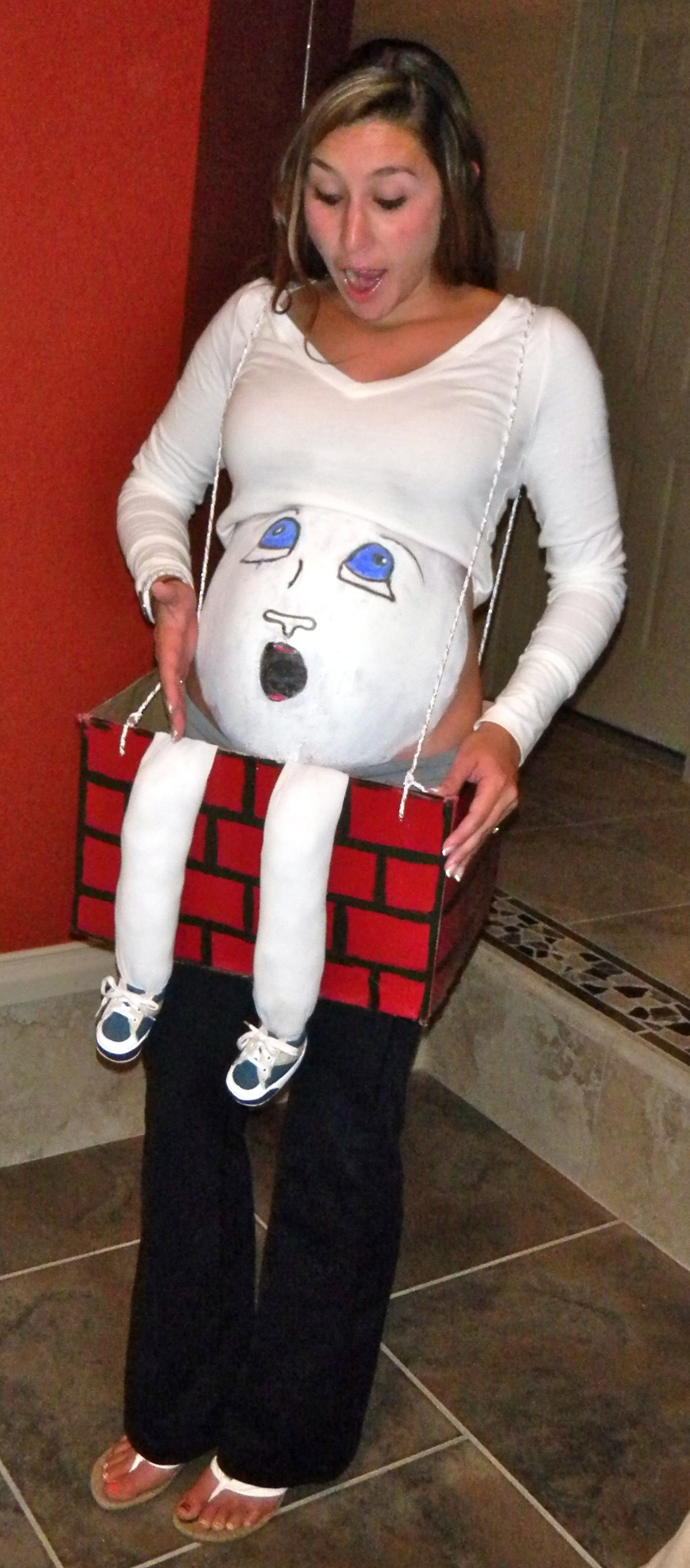 10 Elegant Quick Easy Halloween Costume Ideas pregnancy costume idea i was 38 weeks pregnant and whipped together 1 2021