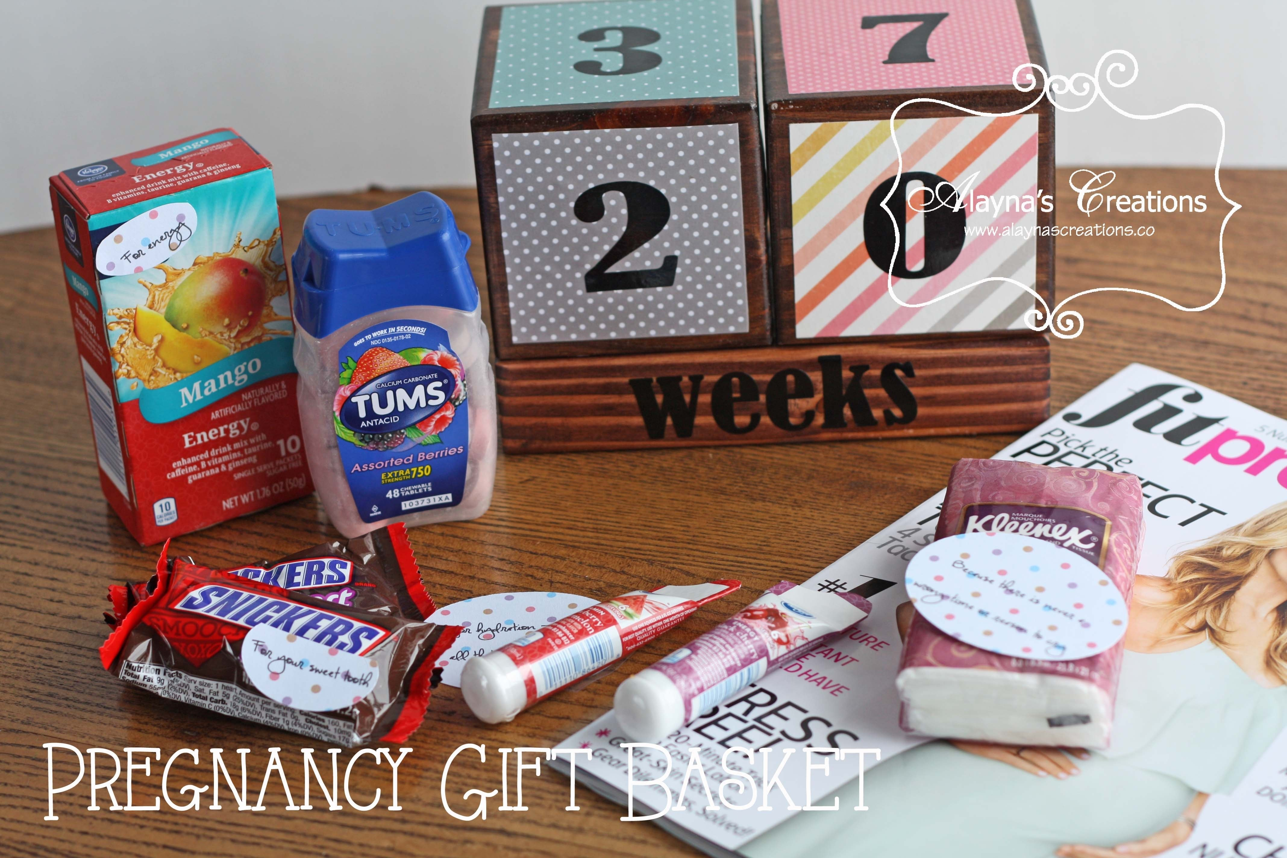 10 Most Popular Gift Ideas For Expecting Mothers pregnancy survival kit gift basket idea diy home decor and crafts 2 2020