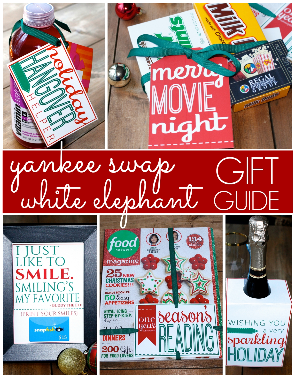 10 Lovely Gift Ideas For Gift Exchange prepping parties yankee swap white elephant gifts christmas 14