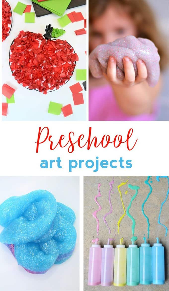 10 Great Easy Arts And Craft Ideas preschool art projects easy craft ideas for kids 2021