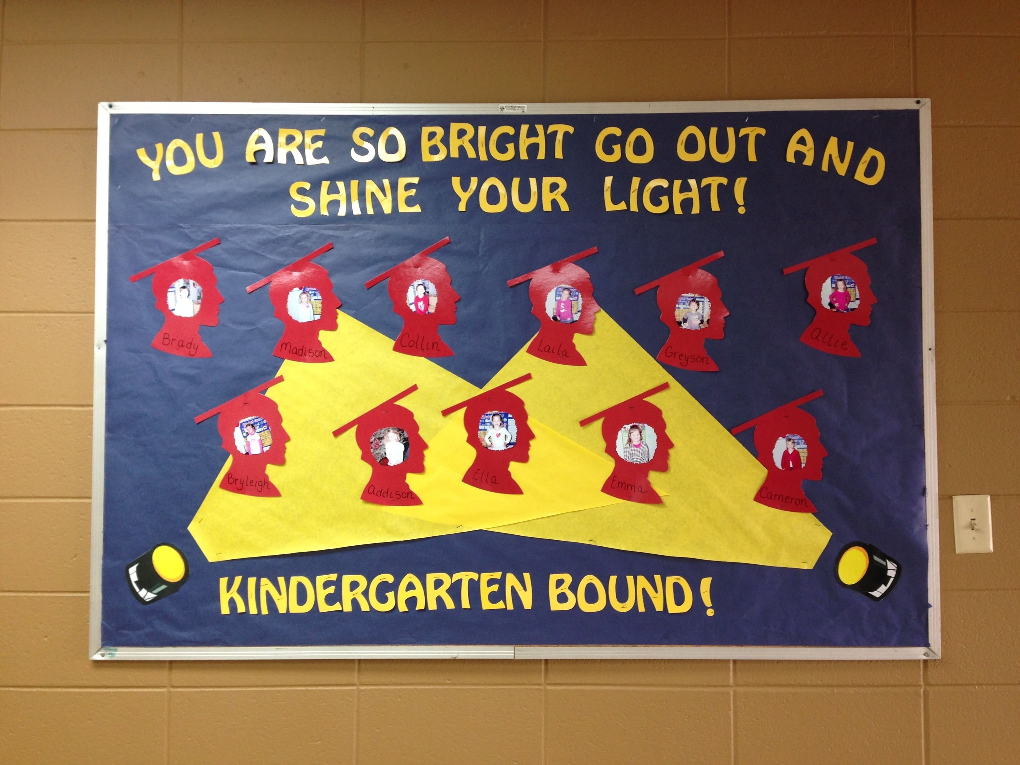 preschool graduation bulletin board | ((( classroom ideas