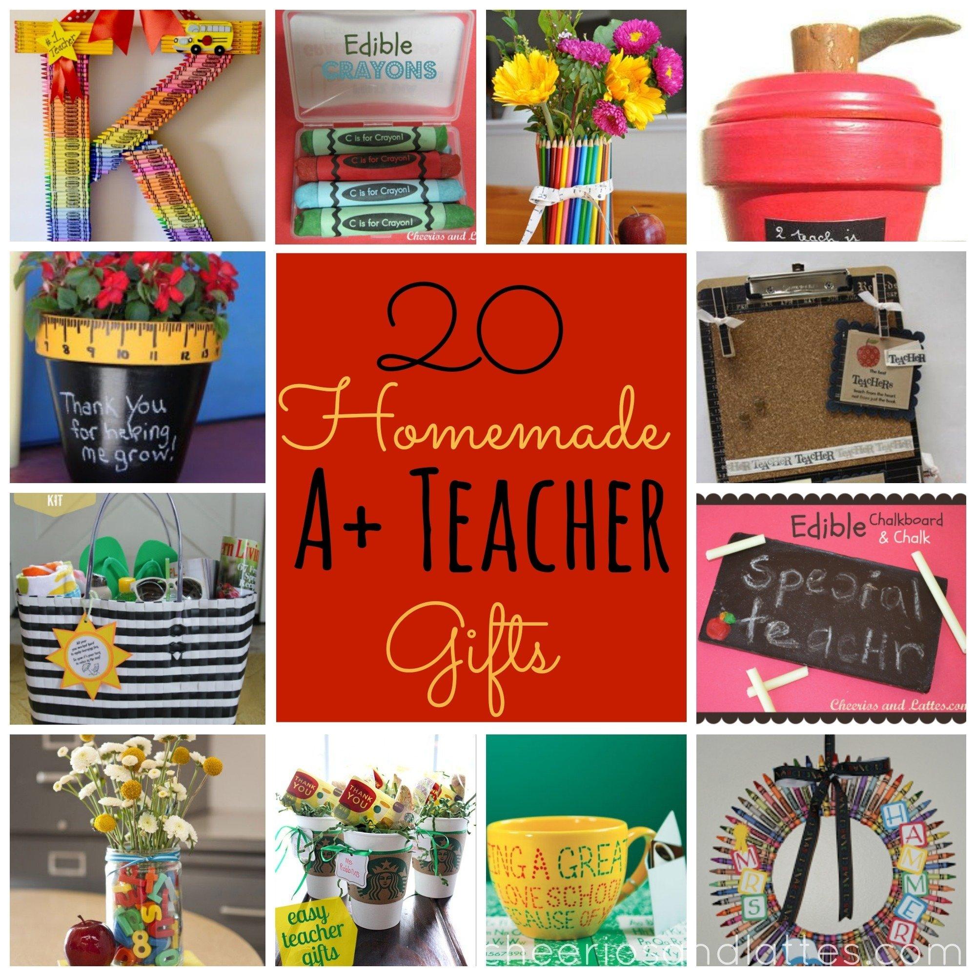 10 Best Teacher Appreciation Homemade Gift Ideas preschool teacher appreciation gift scratching your teacher would 4 2020