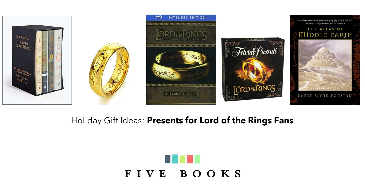 presents for lord of the rings fans | gift ideas on five books