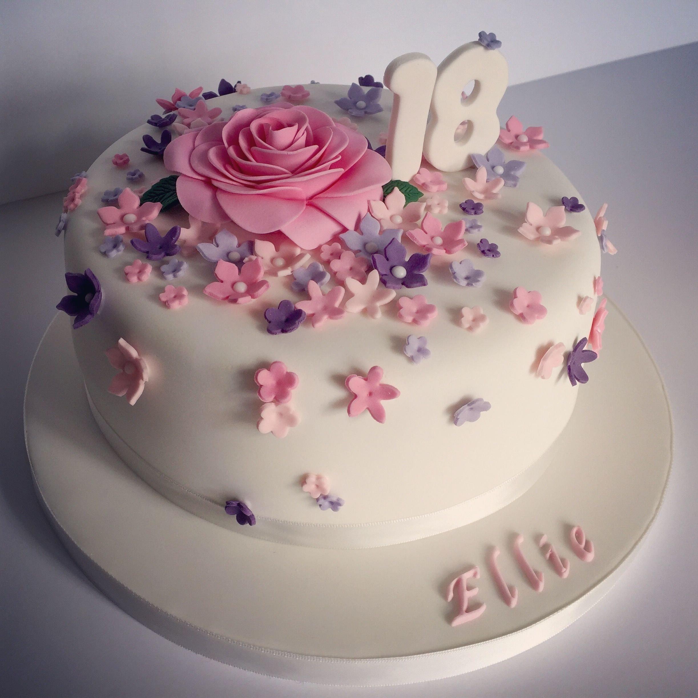 10 Pretty Birthday Cake Ideas For Girls pretty 18th birthday cake for pretty girl designelina prawito 2021