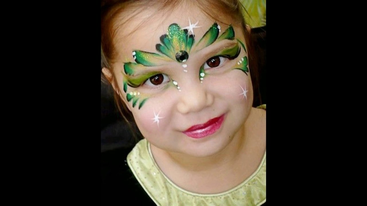 10 Fantastic Kids Halloween Face Painting Ideas pretty halloween face painting ideas for kids 2016 best scary