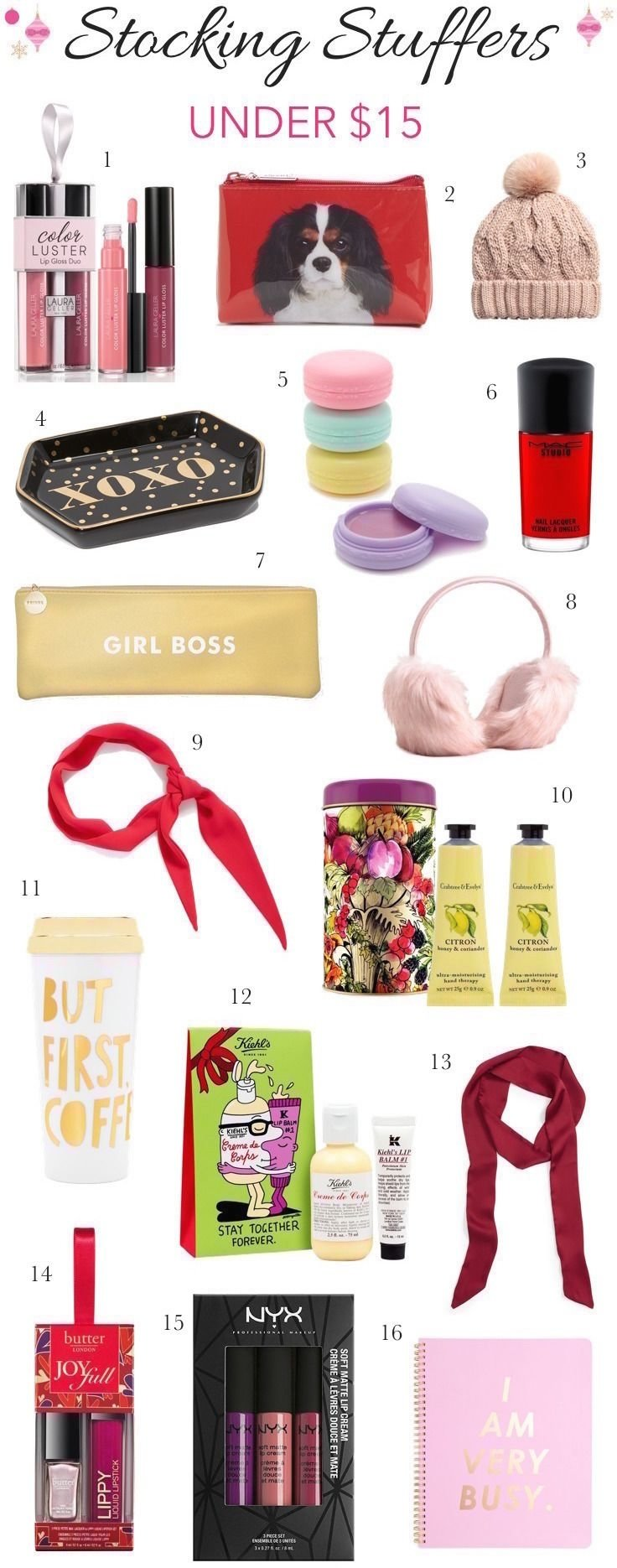10 Wonderful Stocking Stuffer Ideas For Girlfriend pretty little things stylish stocking stuffers for her all under
