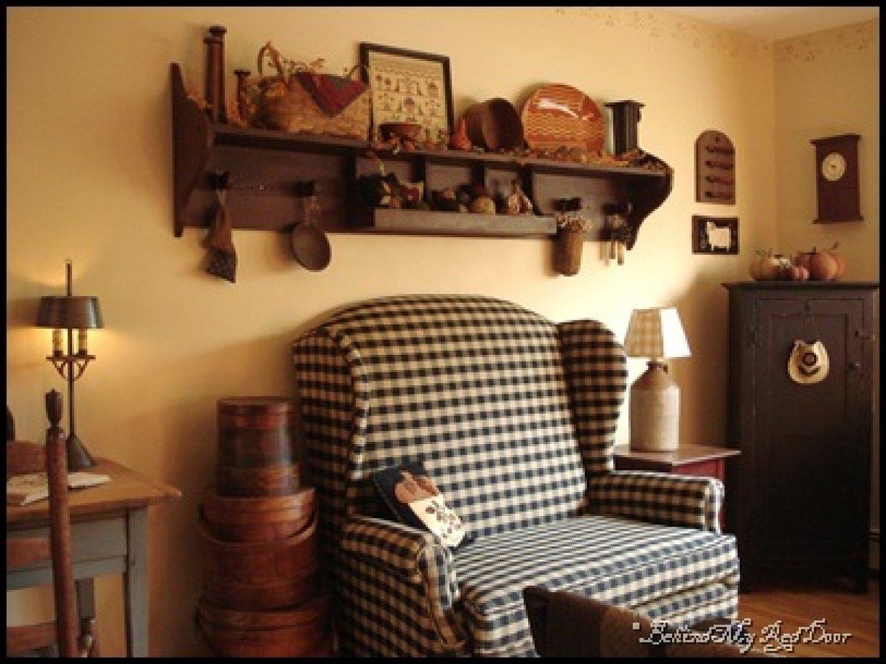 10 Nice Primitive Decorating Ideas For Living Room primitive country living room decorating ideas meliving 9d7a52cd30d3 2021