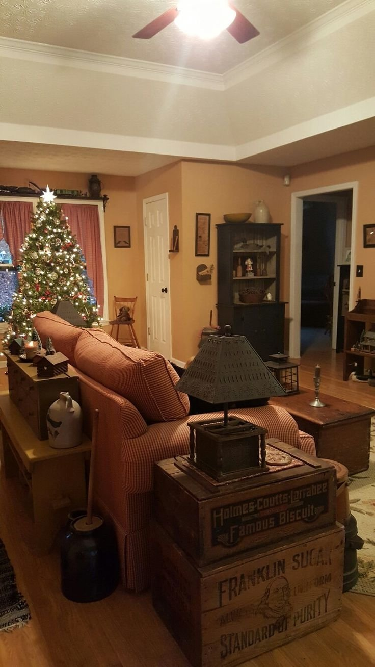 10 Nice Primitive Decorating Ideas For Living Room primitive decorating ideas for living room interior paint color 2021