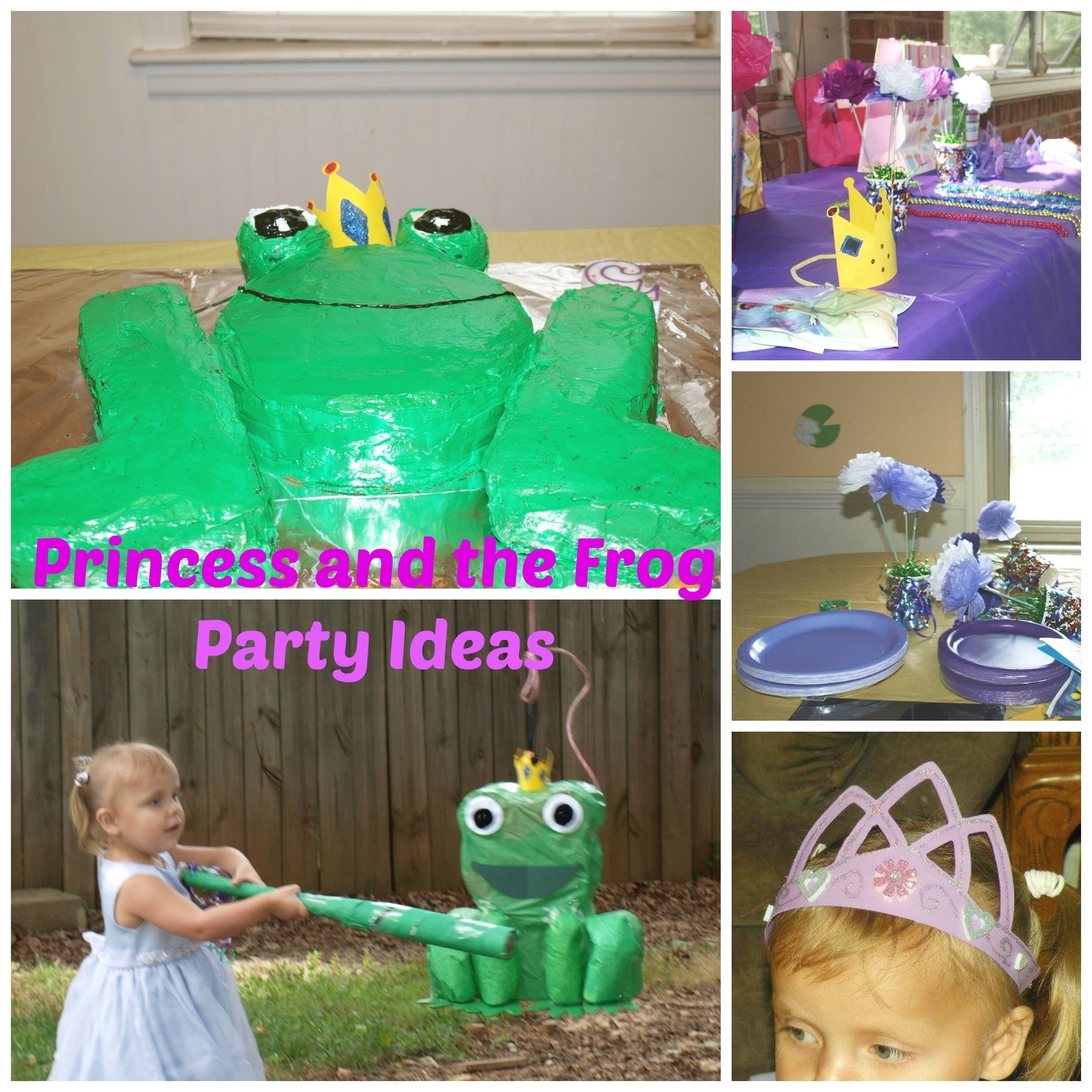 10 Lovable Princess And The Frog Birthday Ideas princess and the frog birthday ideas rebecca autry creations 2020