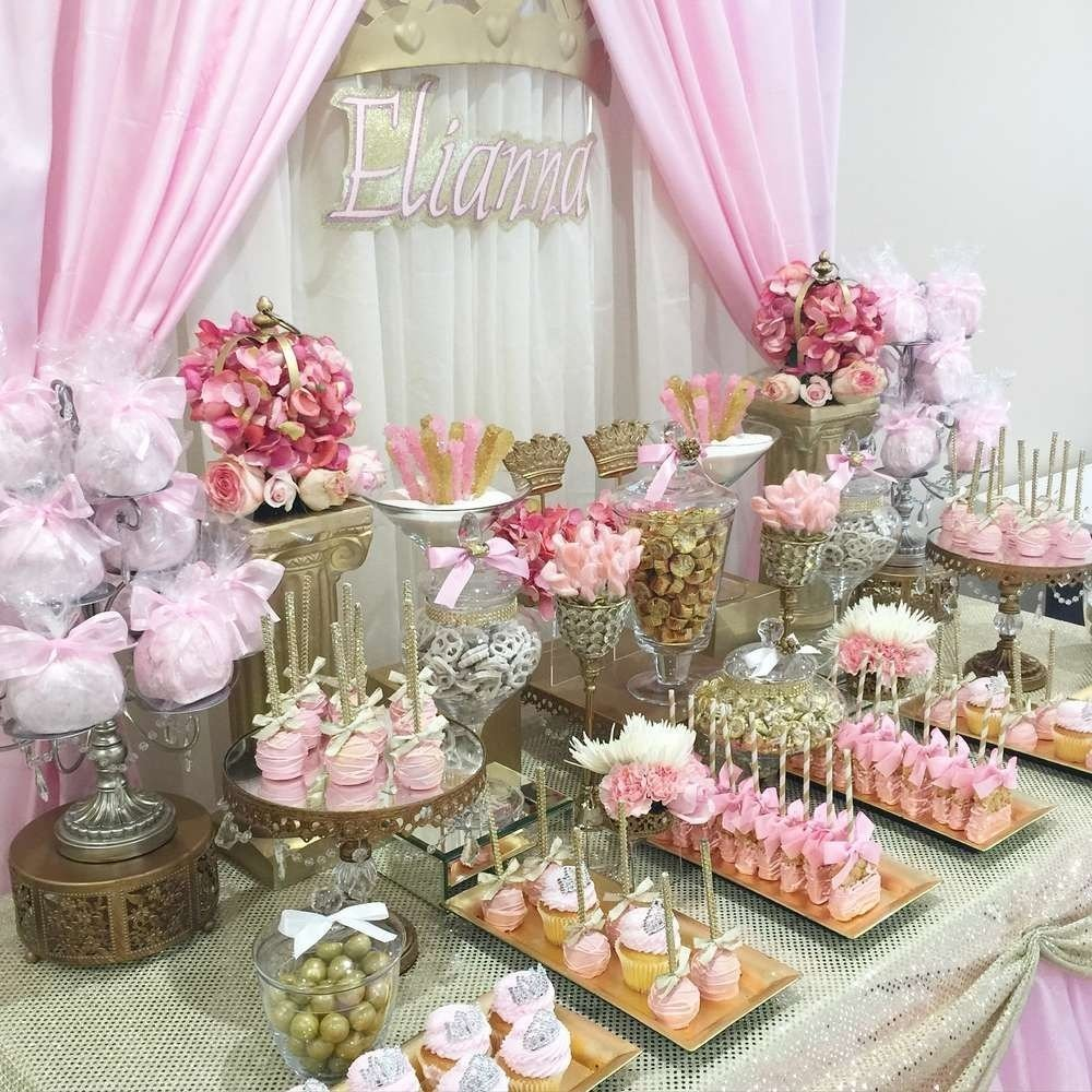 10 Unique Baby Shower Dessert Table Ideas princess baby shower party ideas princess baby showers baby 2020
