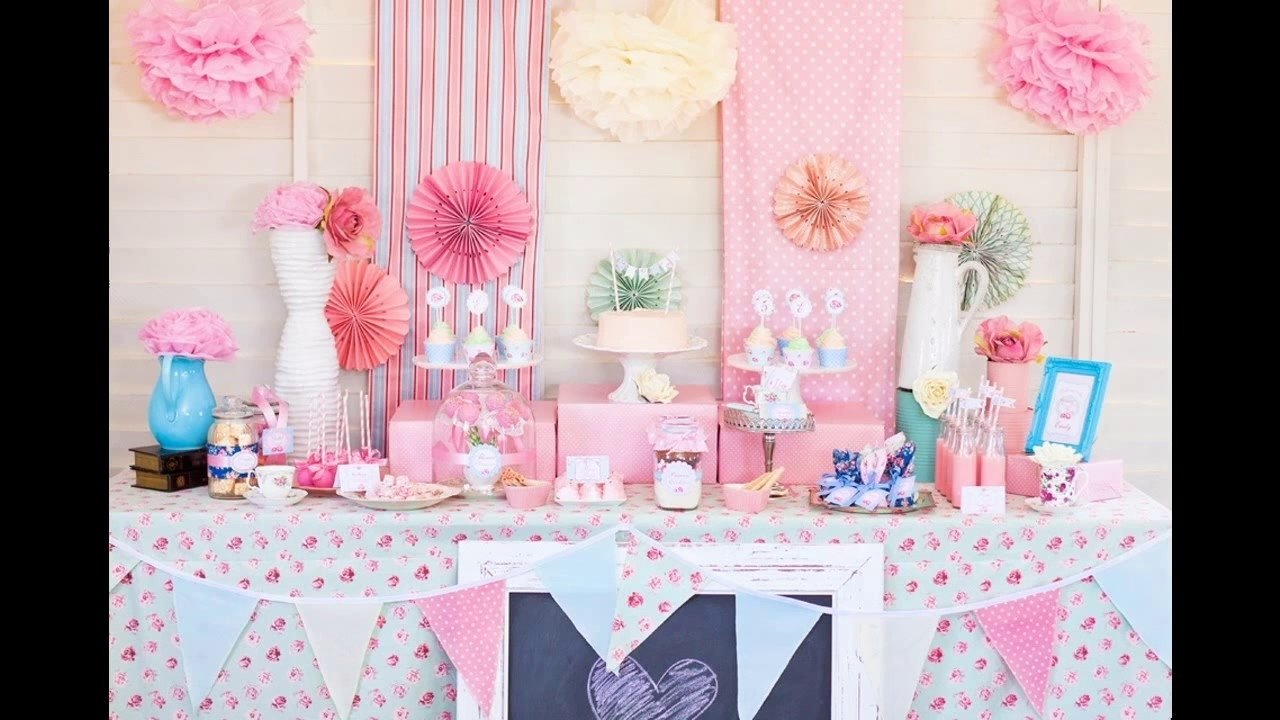 10 Spectacular Princess Theme Baby Shower Ideas princess baby shower themes decorations ideas youtube