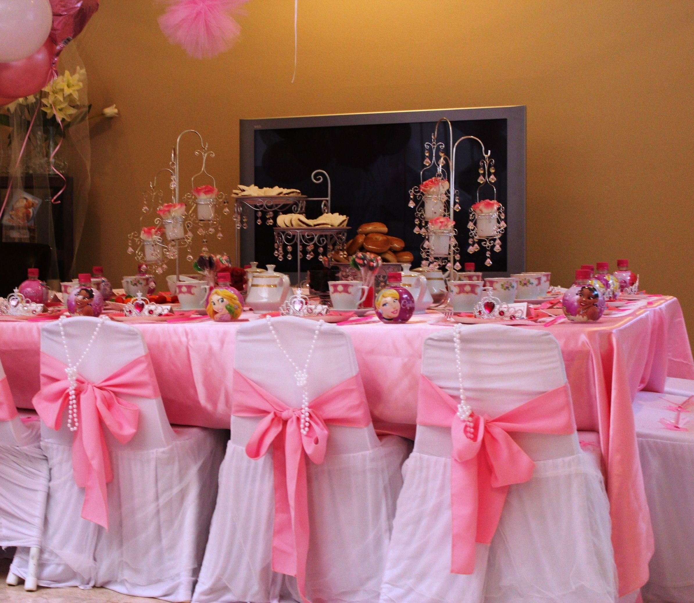 10 Stylish Princess Tea Party Birthday Ideas princess tea party ideas kid sized tables and chairs with princess 1 2020
