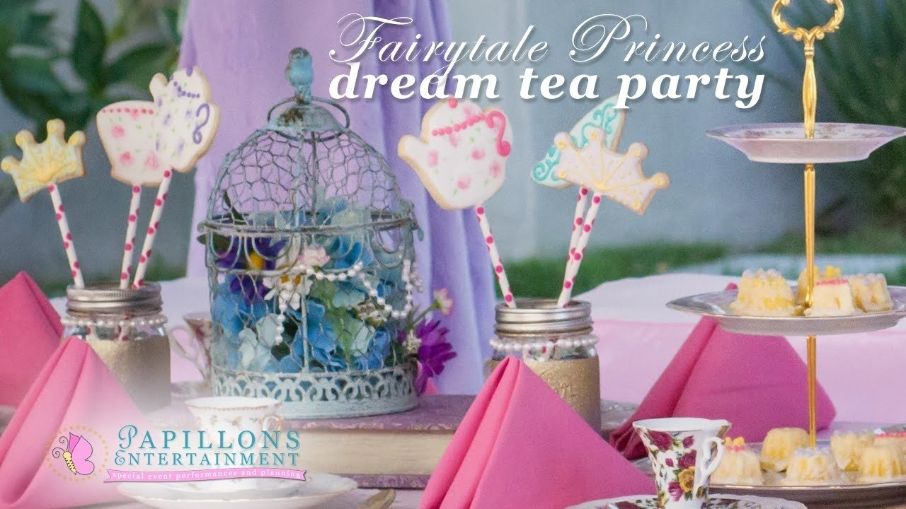 10 Stylish Princess Tea Party Birthday Ideas princess tea party ideas with princess characters rapunzel 2 2020