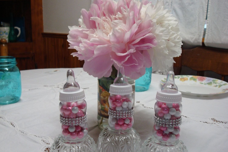 10 Unique Unique Baby Shower Favor Ideas princess theme baby bottle favors bling baby bottles fancy baby 2020