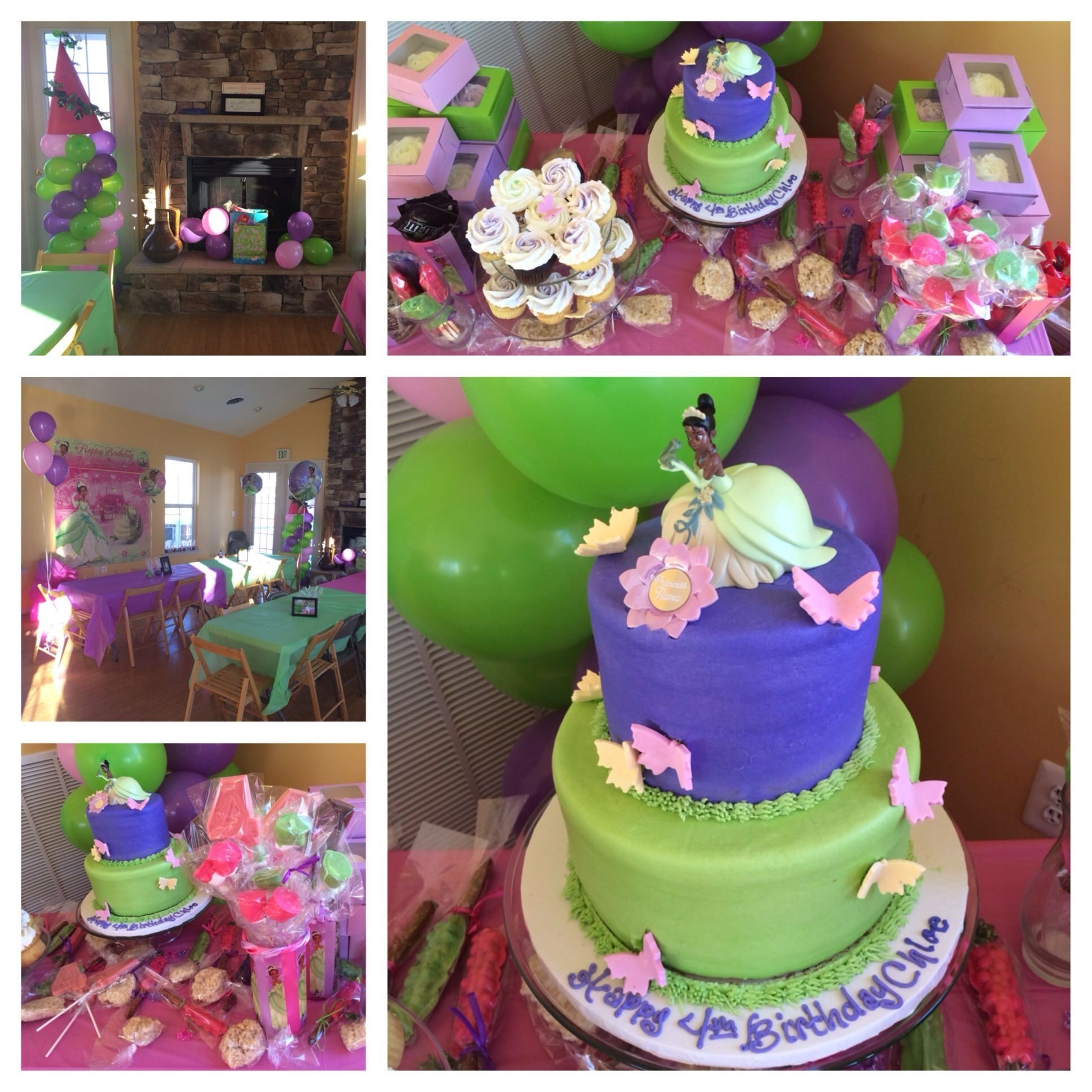 princess tiana birthday party #collage | our parties | pinterest