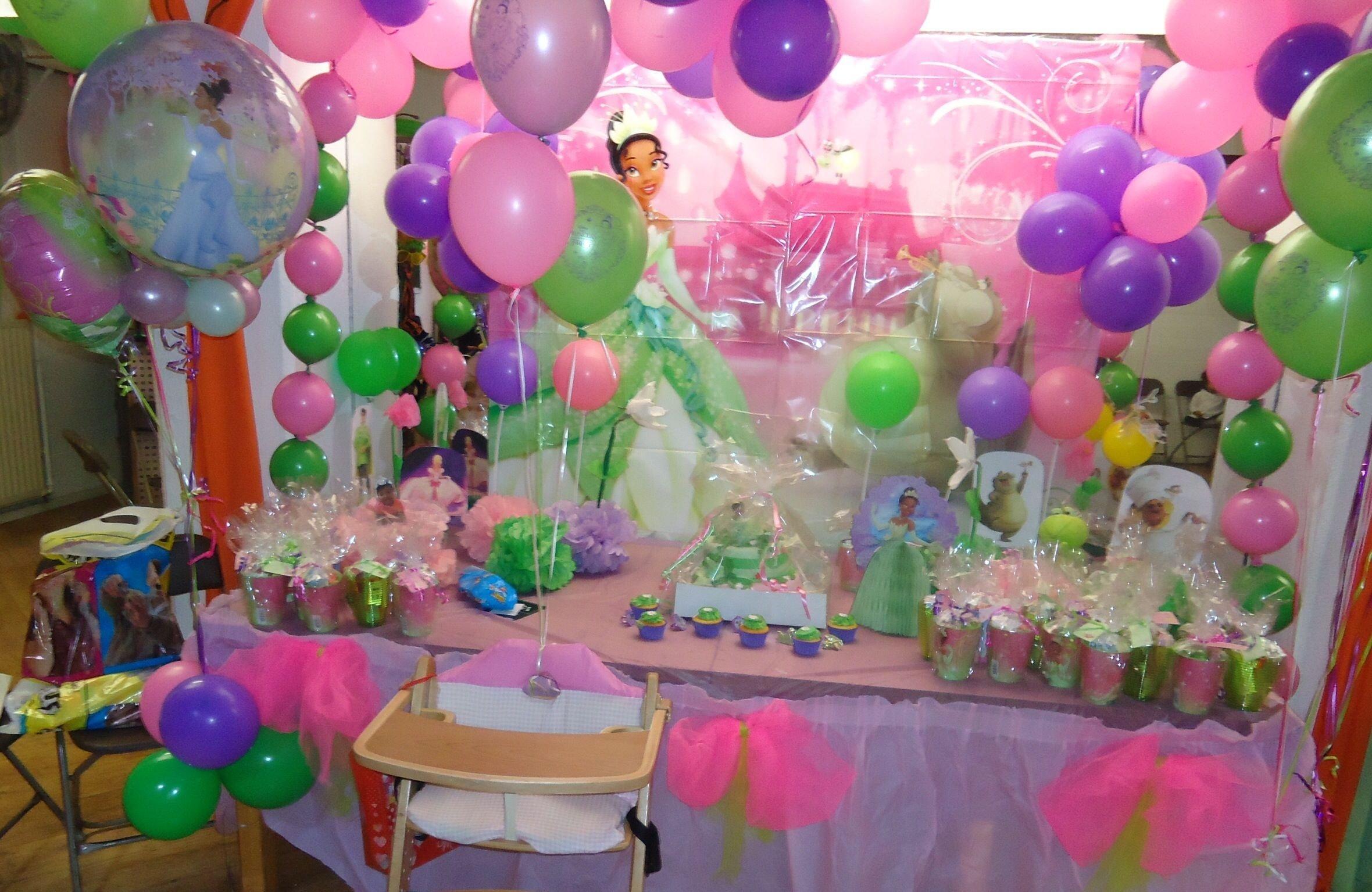 10 Perfect Princess Tiana Birthday Party Ideas princess tiana birthday table decoration princess tiana