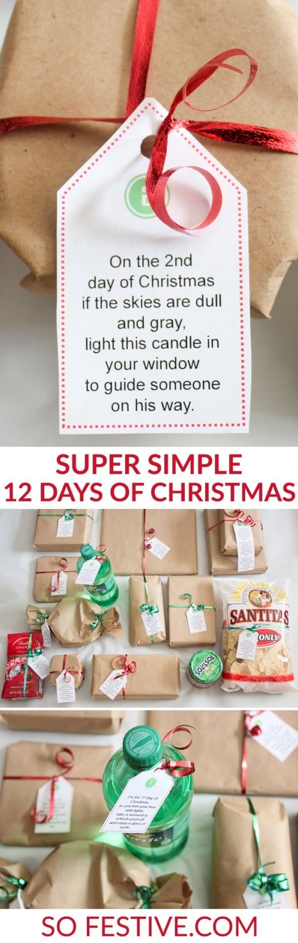 The 12 Days Of Christmas Gift Ideas ✓ The Best Christmas Gifts