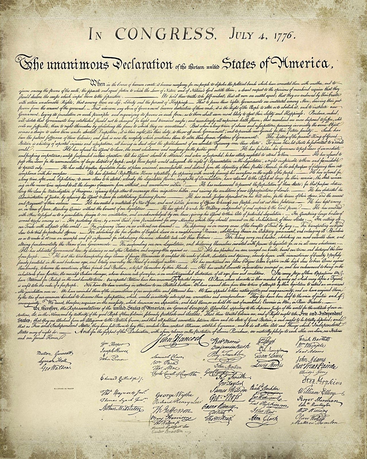 10 Unique The Political Ideas Of Thomas Jefferson Were Greatly Influenced By printable copy declaration independence and simple free 1 2020