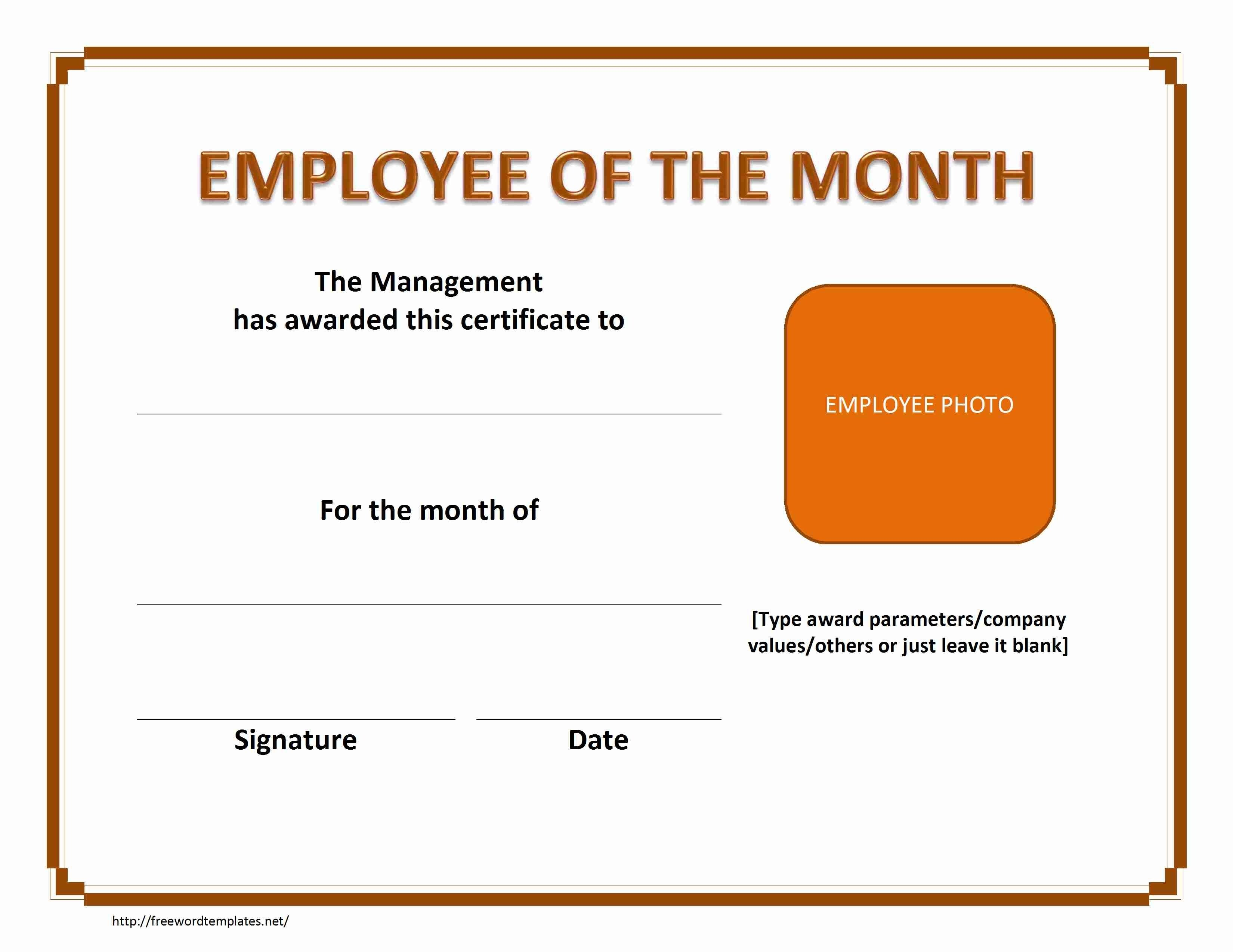 10 Awesome Employee Of The Month Ideas printable employee of the month certificate mangdienthoai