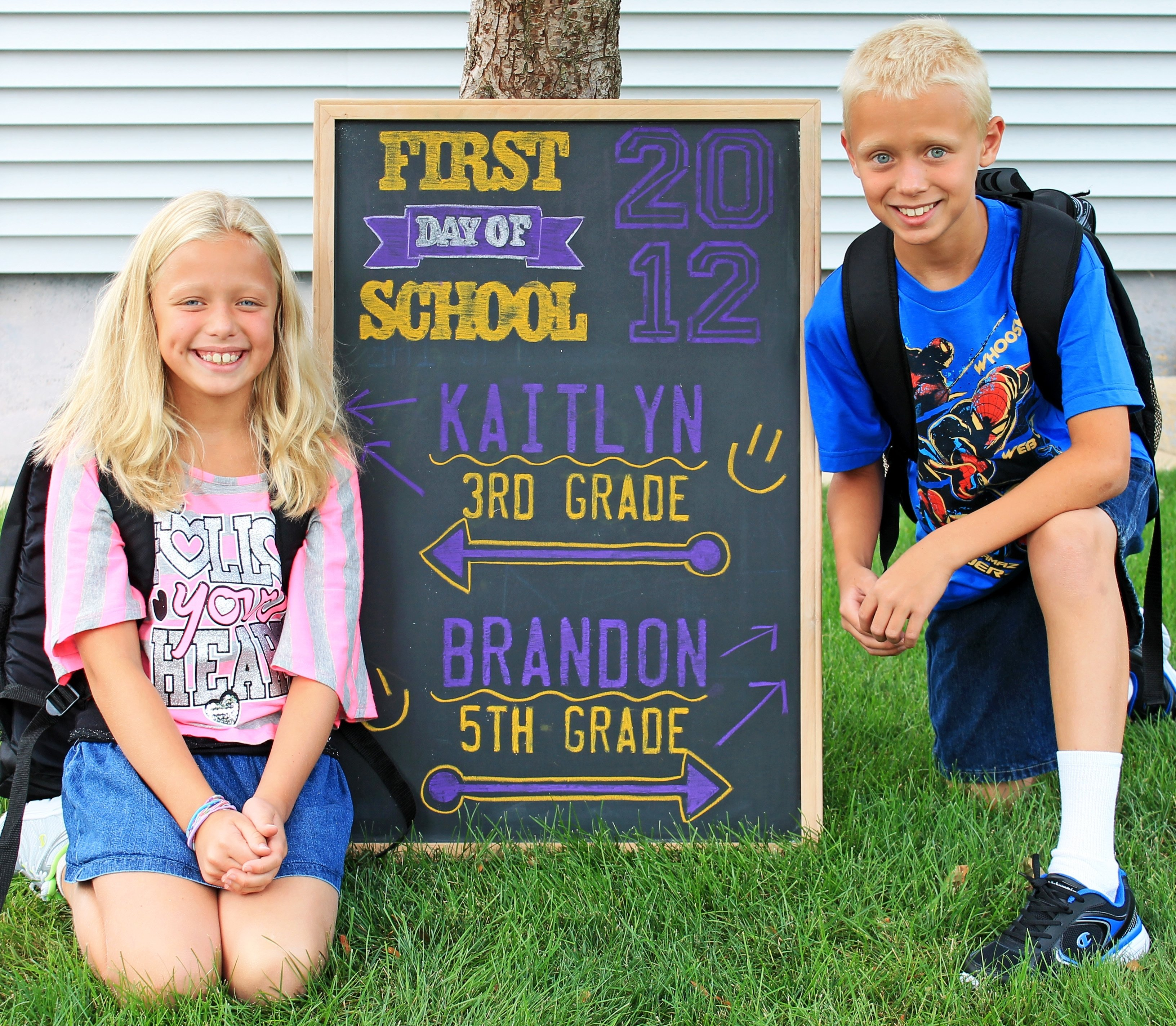 10 Nice 1St Day Of School Ideas printable first day of school signs and bonus photo ideas 2020