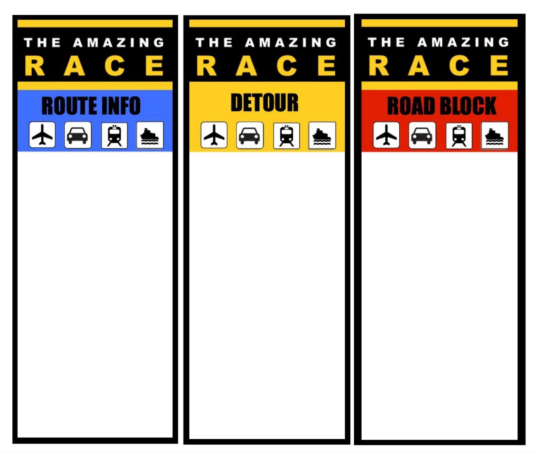 10 Wonderful Amazing Race Birthday Party Ideas printable logo amazing race game pinterest amazing race 2020
