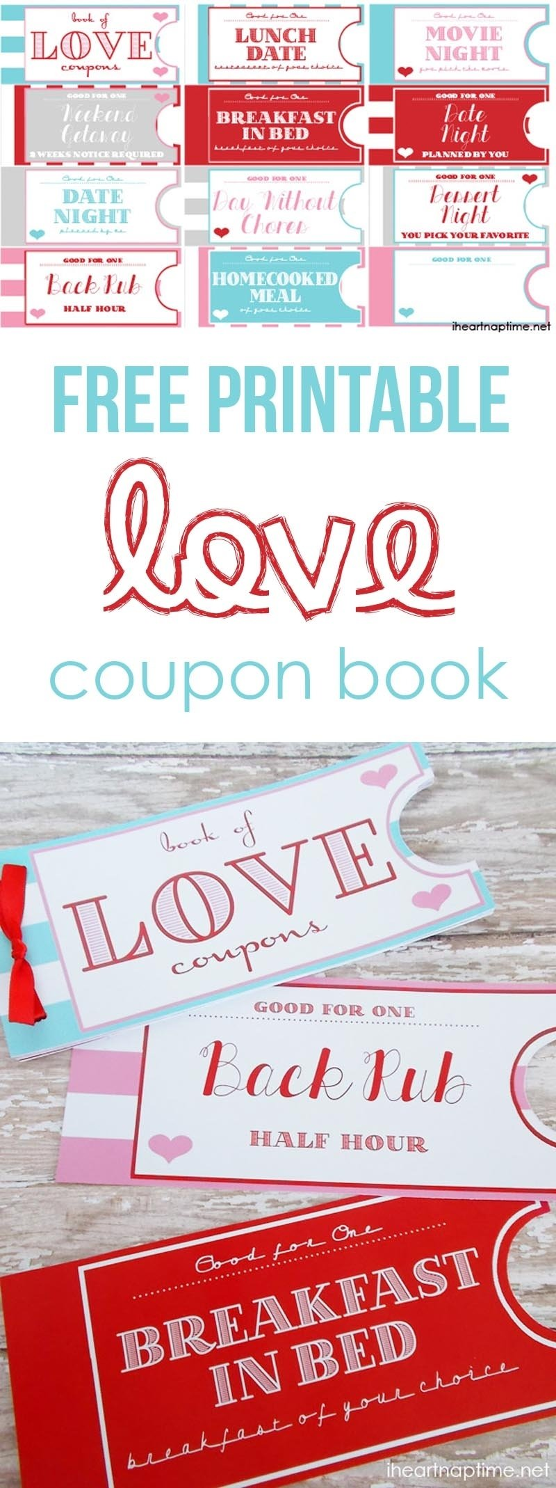 10 Most Recommended Cute Coupon Book Ideas For Boyfriend printable love coupon book the perfect valentines day gift 2020