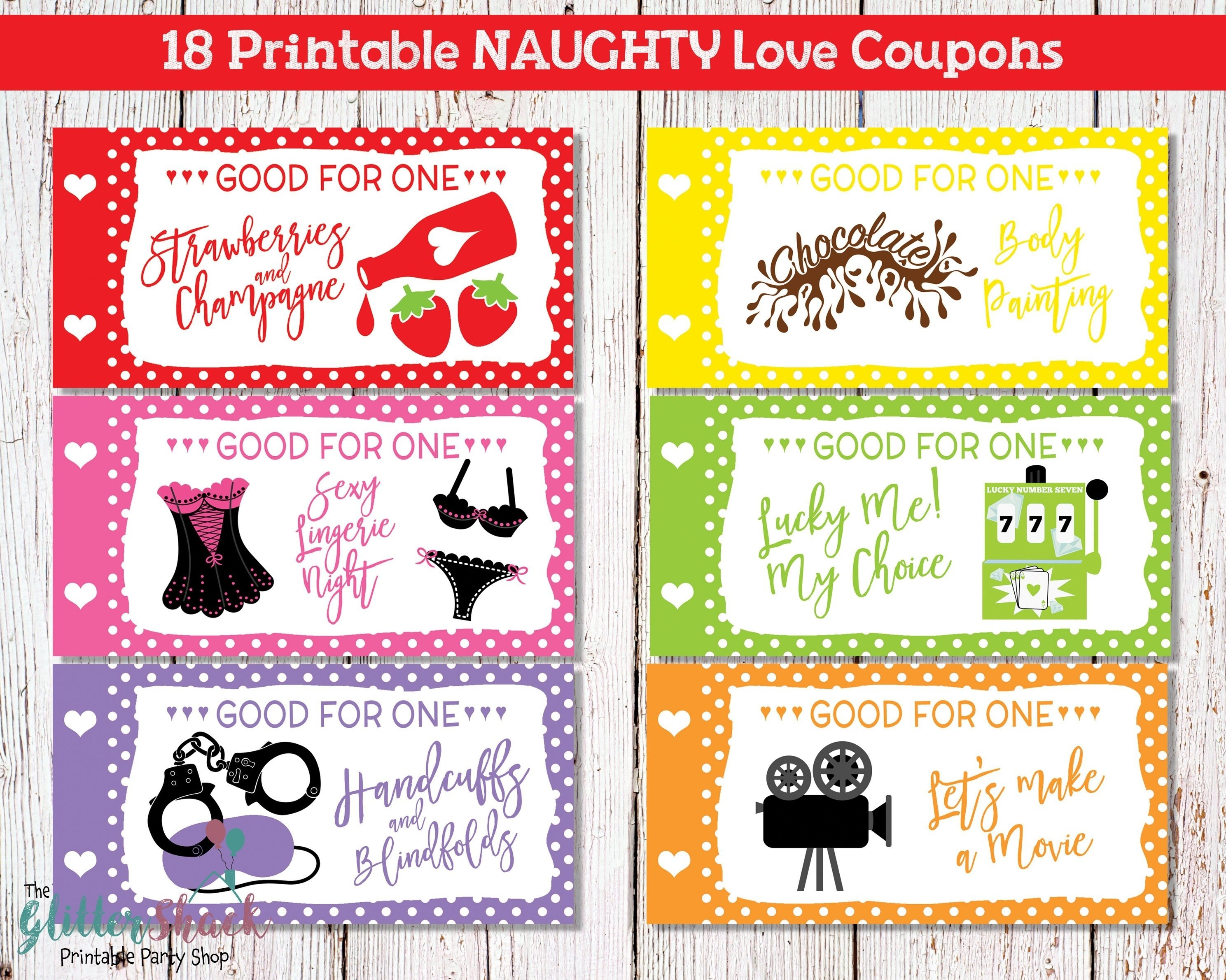 10 Unique Romantic Coupon Ideas For Him printable naughty love coupons for men husband boyfriend sexy 2020