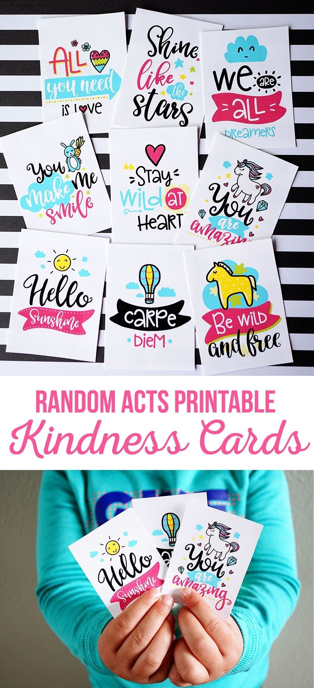 10 Trendy Service Project Ideas For Kids printable random acts kindness cards service project ideas 2020