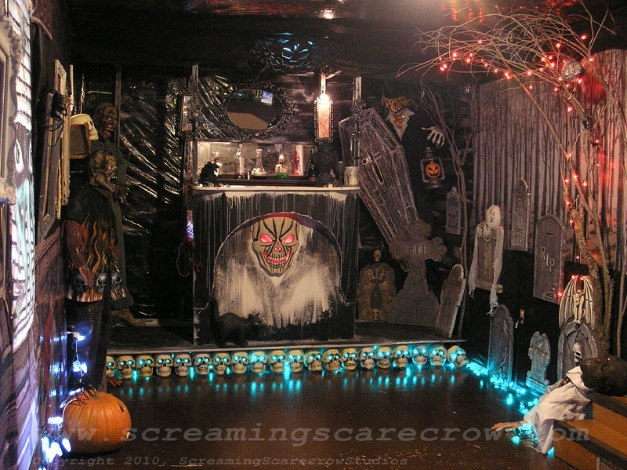 10 Spectacular Ideas For Haunted House Rooms professional haunted house ideas