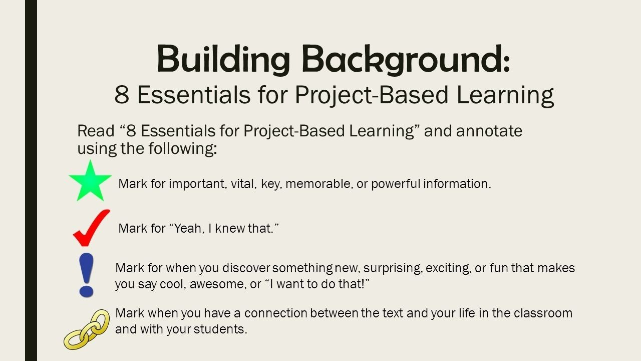 10 Trendy Project Based Learning Ideas For Middle School project based learning skill building kelly rubero english jamie 2020