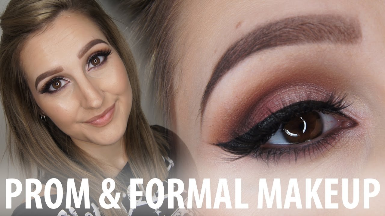 10 Perfect Prom Makeup Ideas For Brown Eyes prom formal makeup for brown eyes makeupbykaylaaa youtube
