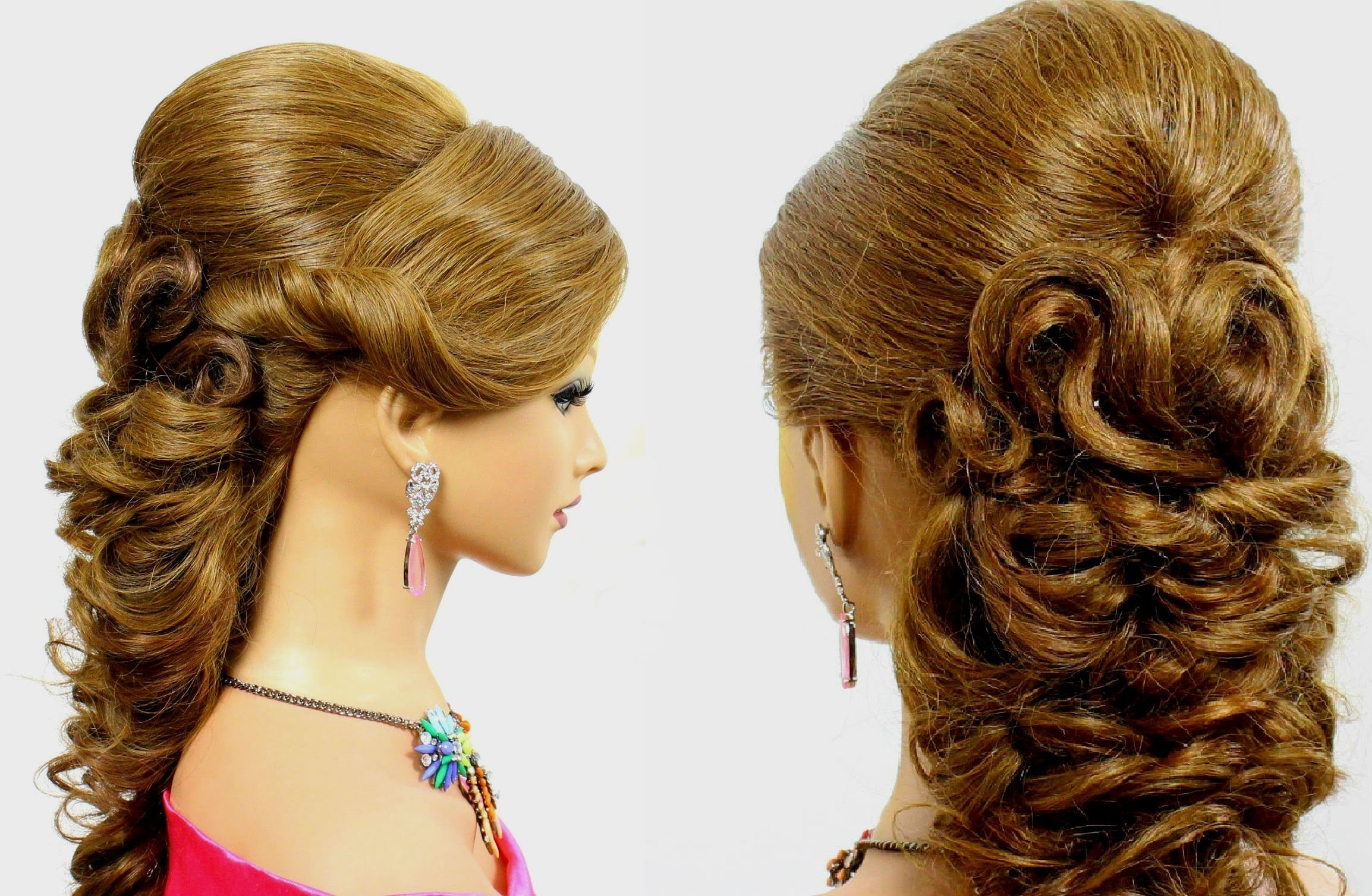 10 Most Recommended Prom Hair Ideas For Long Hair prom hairstyle for long hair tutorial youtube 2020
