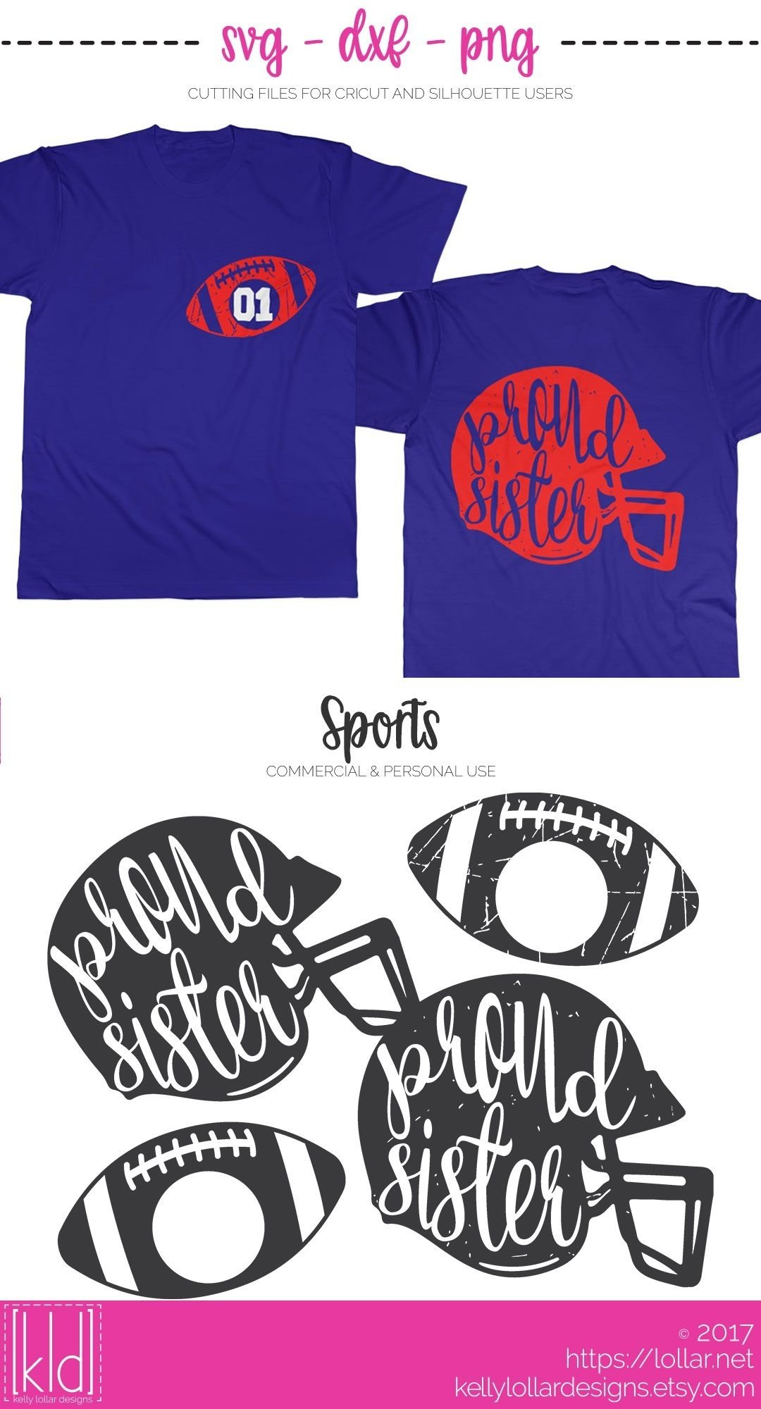 10 Nice Football T Shirt Designs Ideas proud family football helmets football sister svg file and helmets