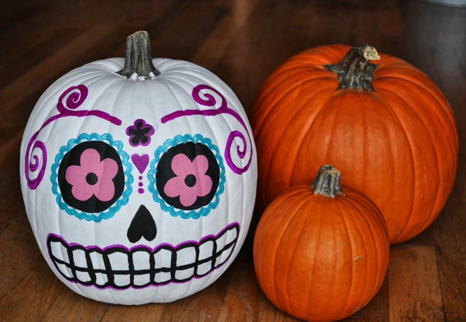 10 Fashionable Creative Pumpkin Ideas No Carving pumpkin carving ideas sunset for halloween easy no di bedroom 2020