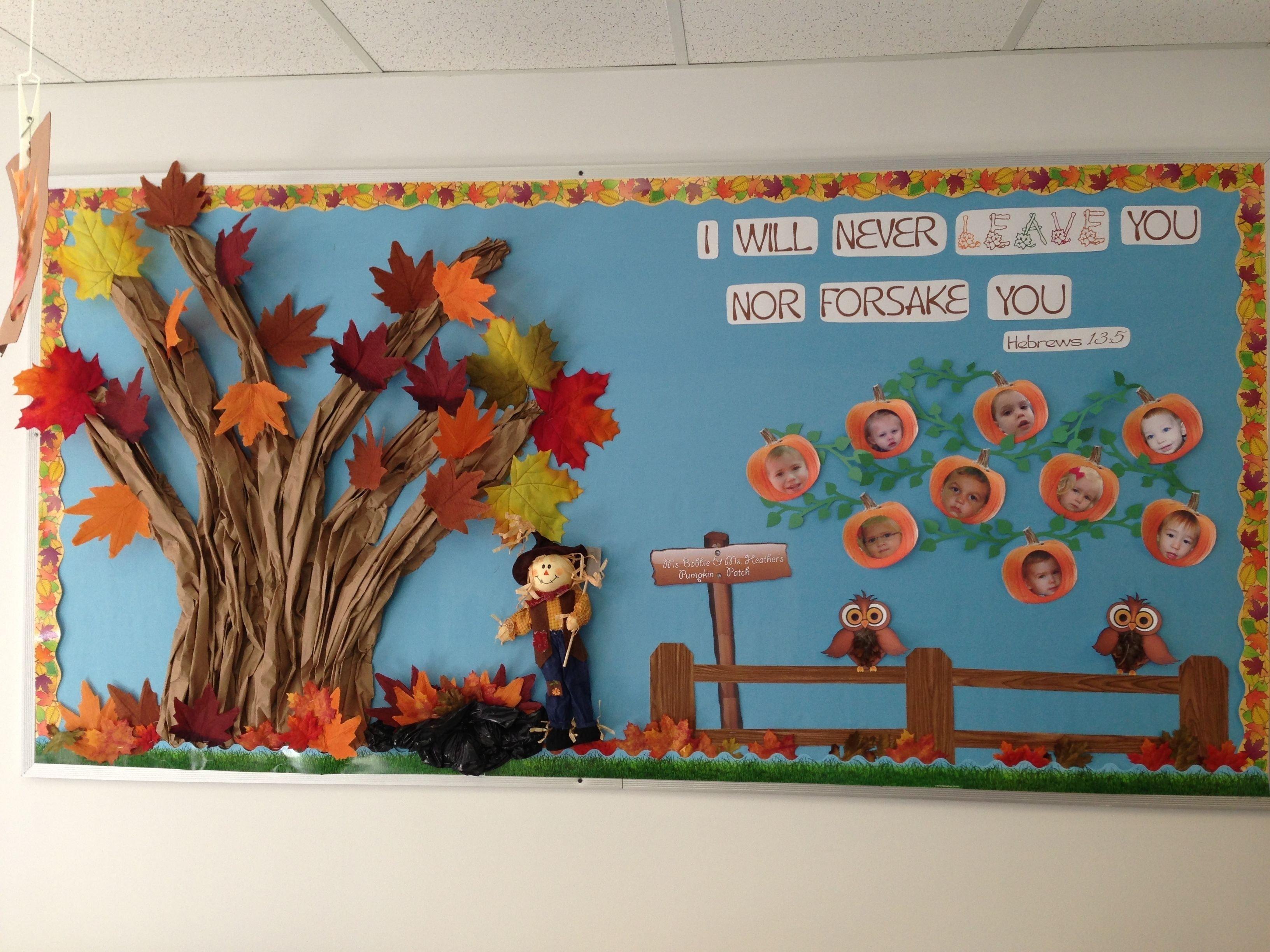 10 Great Pumpkin Patch Bulletin Board Ideas pumpkin patch bulletin board for a church preschool fall preschool 2021