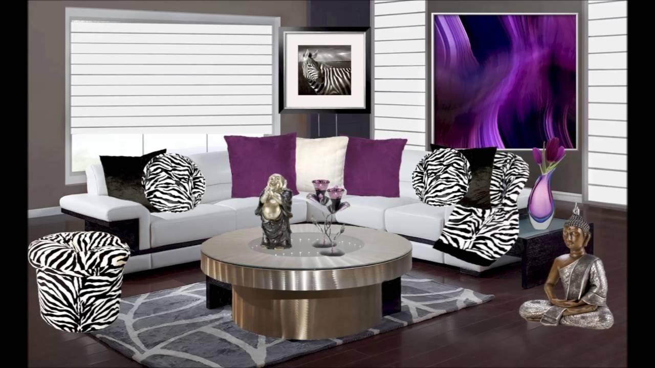 10 Lovely Animal Print Living Room Ideas purple and animal print living room decor youtube 2020