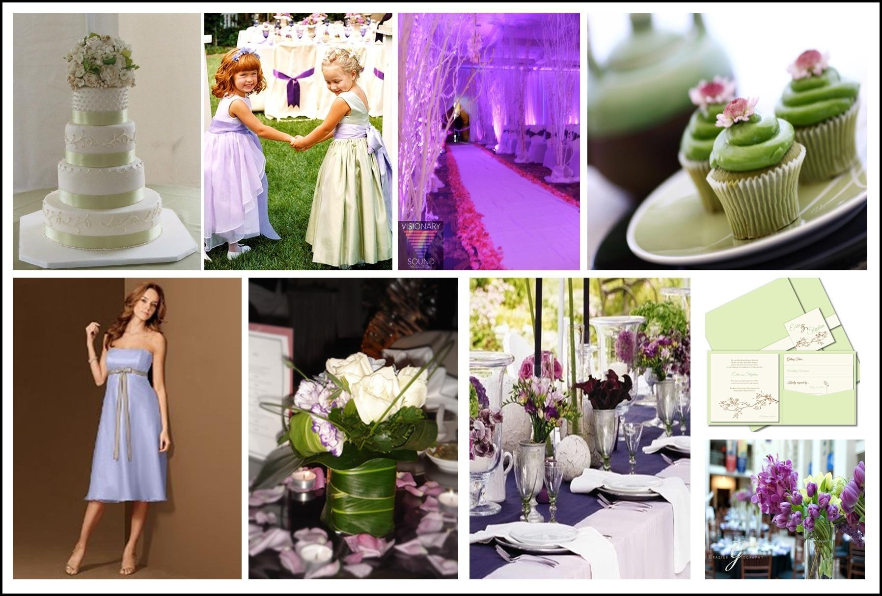 10 Awesome Purple And Green Wedding Ideas purple and green wedding colors wedding ideas uxjj 2021