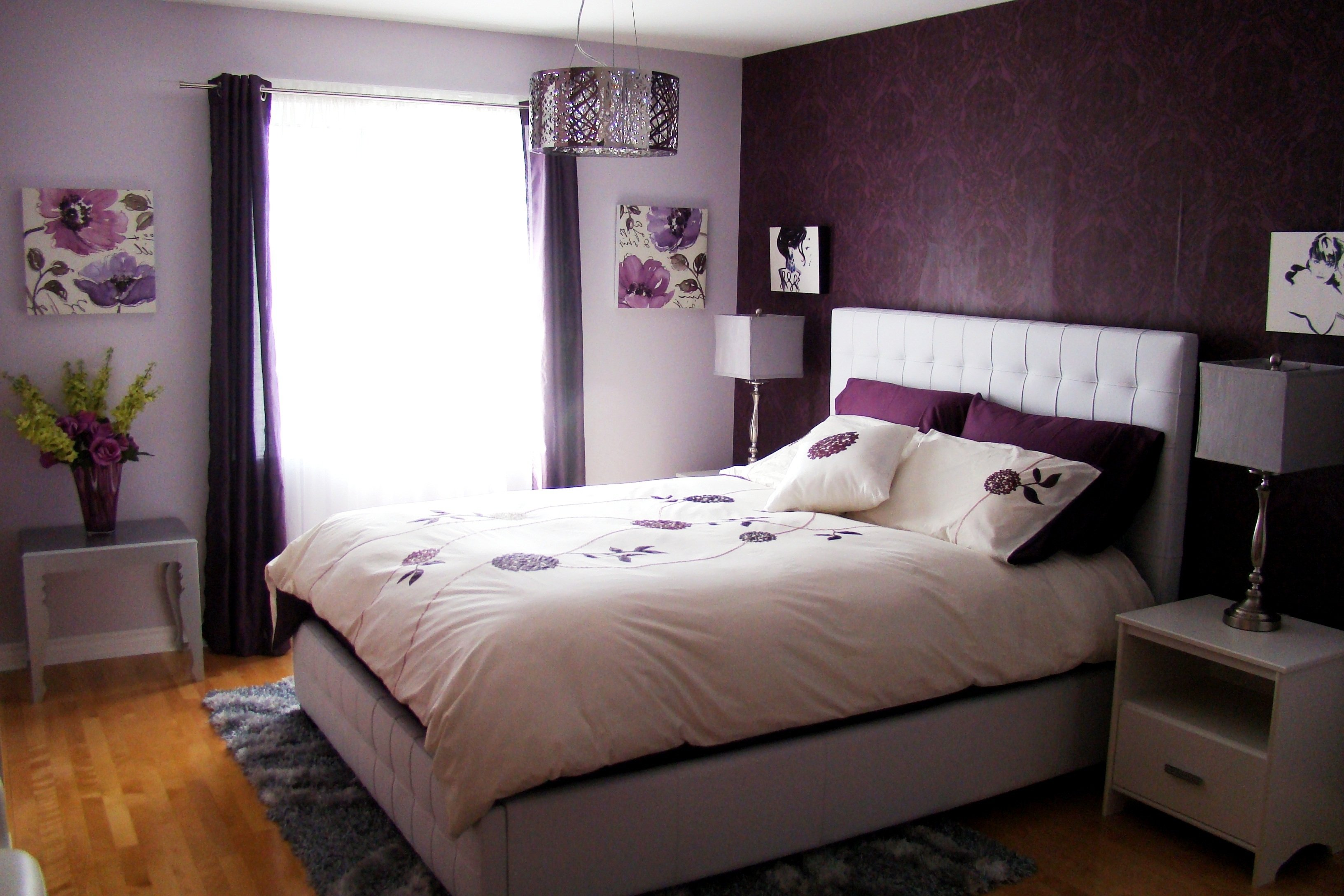 10 Stylish Purple Bedroom Ideas For Adults purple bedroom ideas cool idaes decobizz 2020