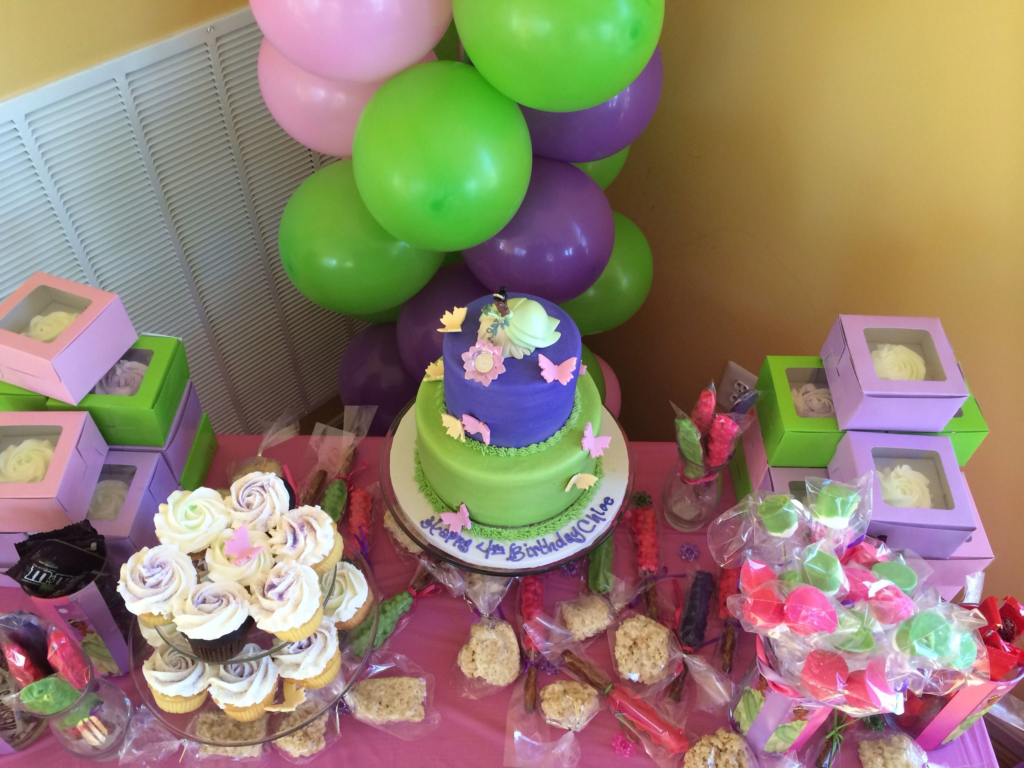 10 Perfect Princess Tiana Birthday Party Ideas purple green pink princess tiana birthday party gigmy partner