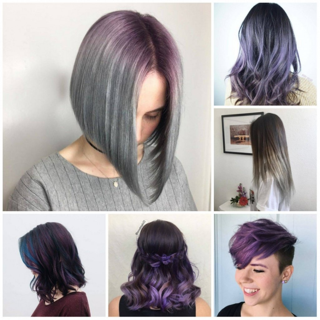 purple hair colors for short hair in 2018 – best hair color ideas