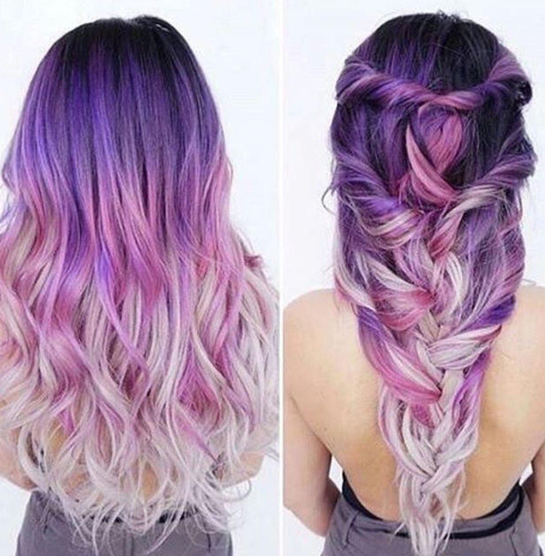 10 Wonderful Pink And Purple Hair Ideas purple ombre hair purple passion pinterest purple ombre ombre 2020