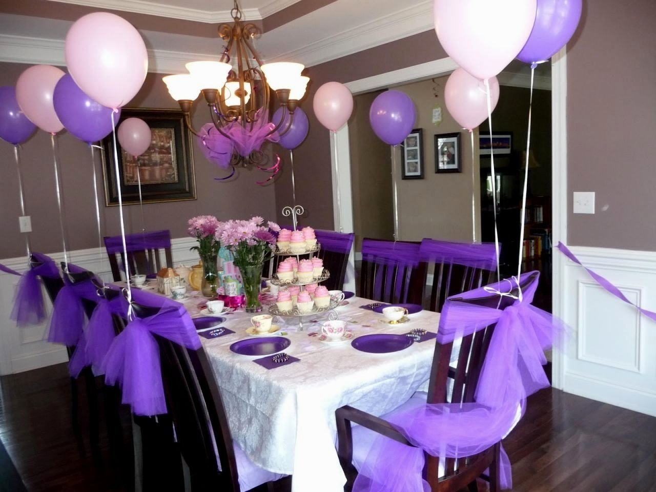 10 Best Birthday Party Decorations Ideas For Adults purple party ideas for adults decorating of party 1 2020