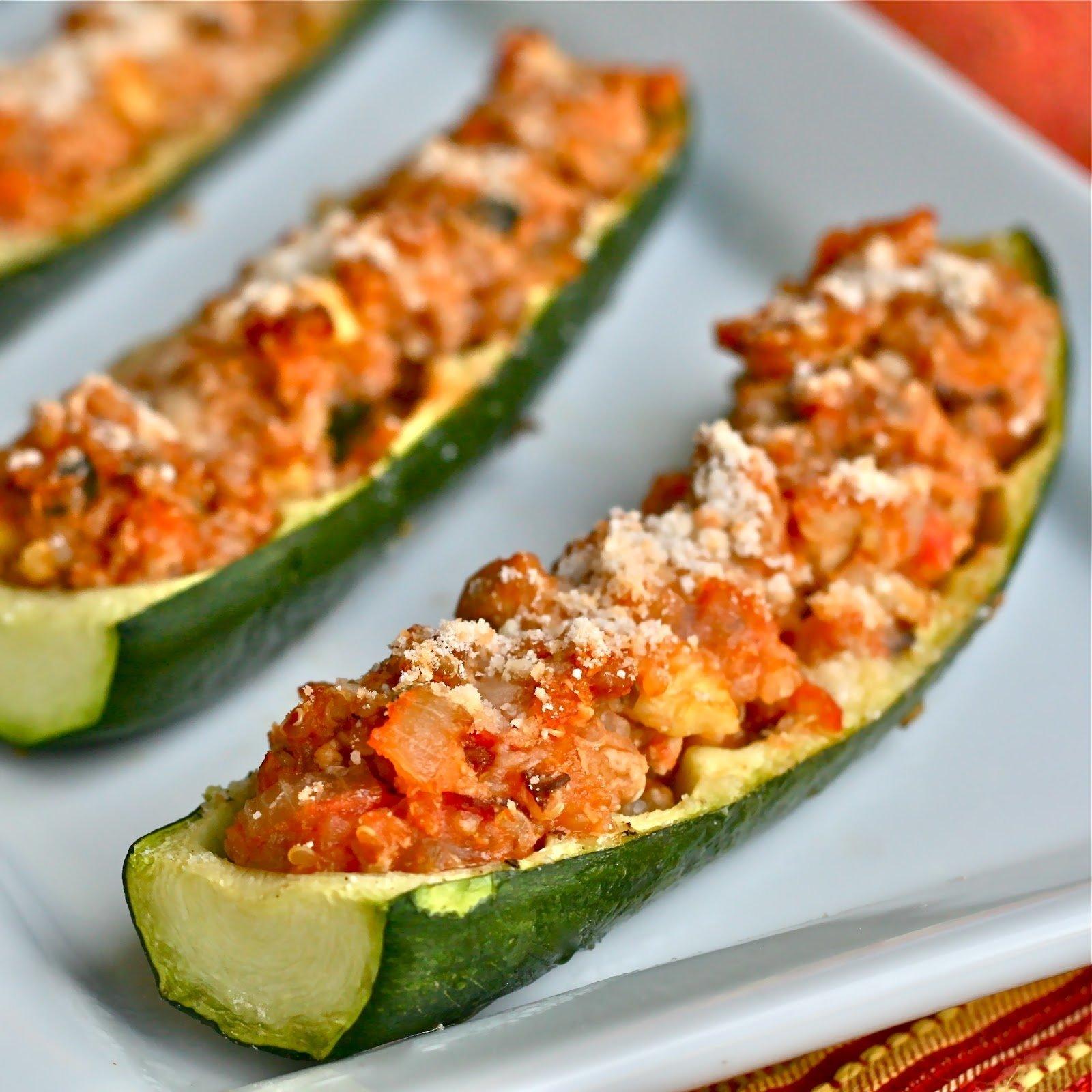 10 Pretty Dinner Ideas For Ground Turkey q is for quinoa ground turkey zucchini boats
