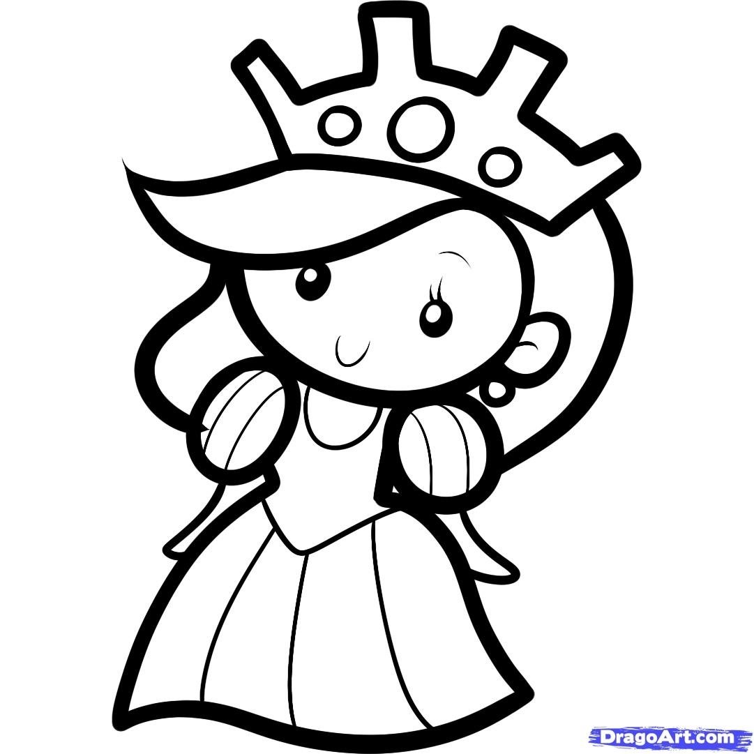 10 Great Easy Drawing Ideas For Kids queen http www dragoart tuts 10954 1 1 how to draw a queen for