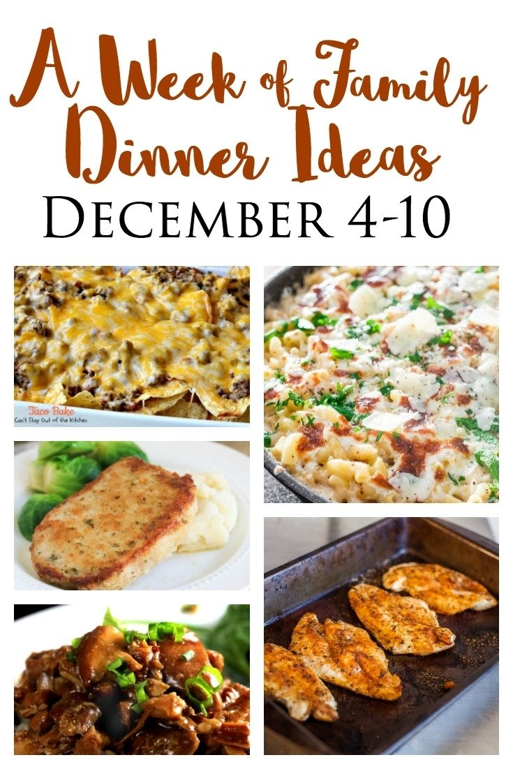 10 Nice Dinner Ideas For Family Of 4 quick and easy dinner ideas for busy families december 4 10 simply 6 2020