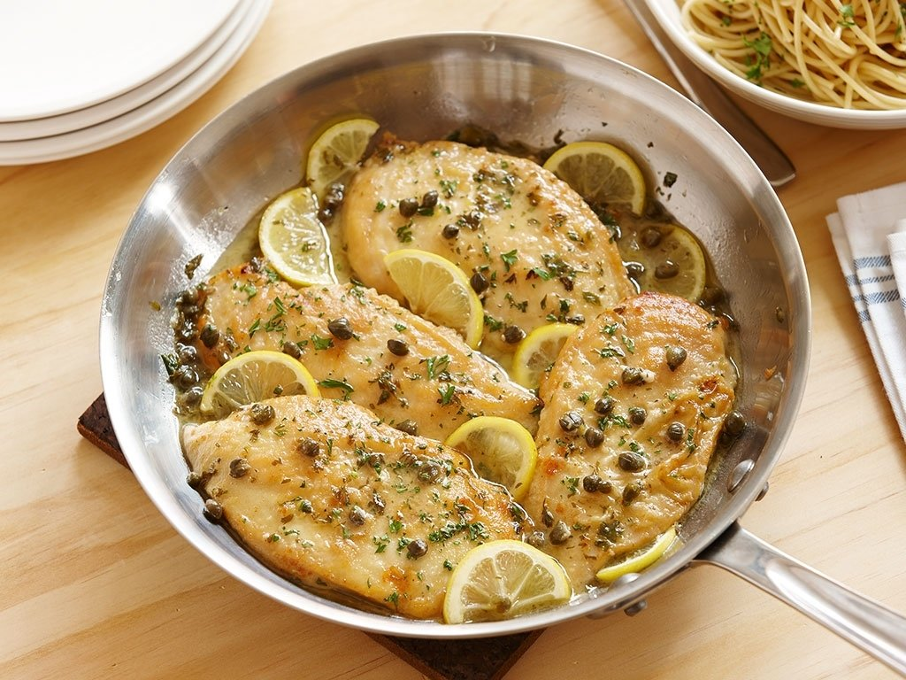10 Elegant Dinner Ideas For Chicken Breast quick and simple chicken piccata perdue 2020