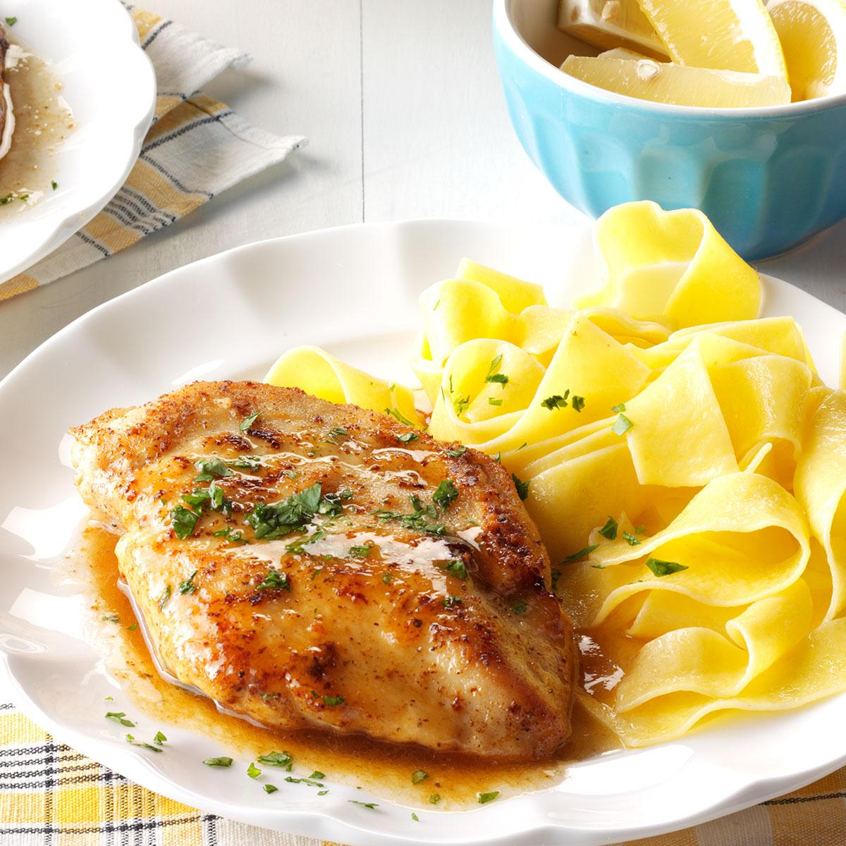 10 Spectacular Easy Dinner Ideas With Chicken Breast quick chicken piccata recipe taste of home 1 2021