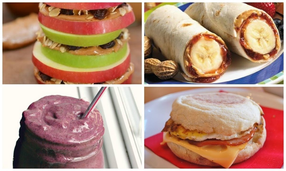 10 Famous Fast And Easy Breakfast Ideas quick easy breakfast ideas britanys beauty youtube